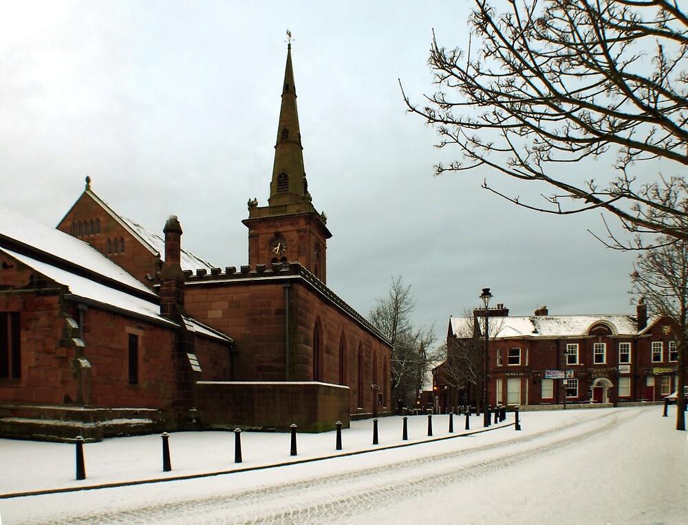 Winter snow by Steve  Wallace