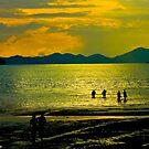 Krabi beach, Thailand by Kornrawiee