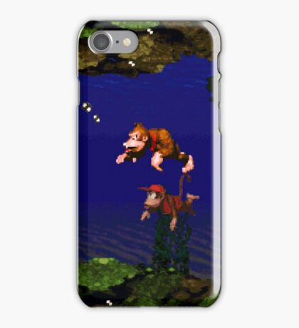 Donkey Kong Country - Coral Capers iPhone Case/Skin