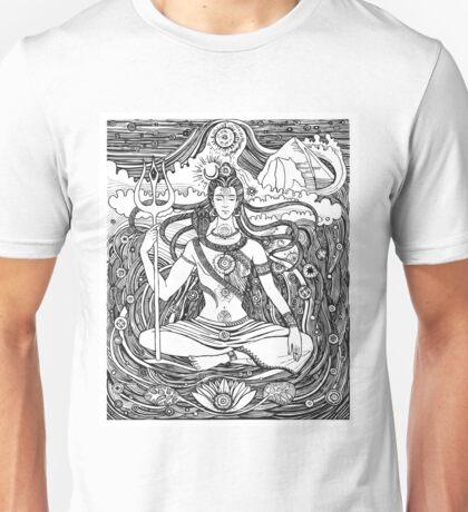 Lord Shiva and Shakti  Unisex T-Shirt