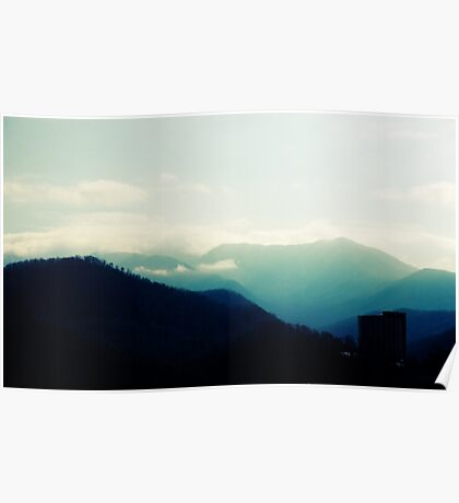 Gatlainburg Mountains Poster