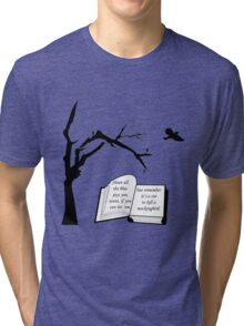 A Sin To Kill A Mockingbird Tri-blend T-Shirt