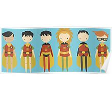 All the Robins! (in ROBIN's egg blue) Poster