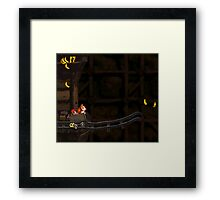 Donkey Kong Country - Mine Cart Carnage Framed Print