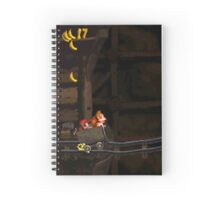 Donkey Kong Country - Mine Cart Carnage Spiral Notebook