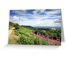 Malvern Hills : Glorious Summer Greeting Card