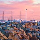 Fremantle Harbour by Jeddaphoto