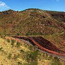 Steep hill down to the Ord River by georgieboy98