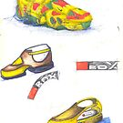 Red Box - shoes design by RootRock