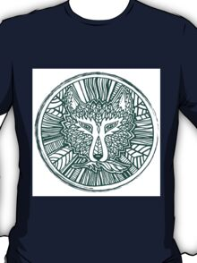 Wolf head. Native american style. Ethnic animals illustration.  T-Shirt