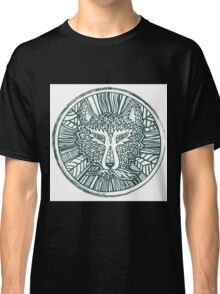 Wolf head. Native american style. Ethnic animals illustration.  Classic T-Shirt