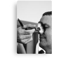 Getting the 'brush-off' ... Canvas Print