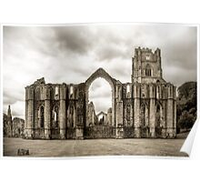 Fountains Abbey: North Yorkshire Poster