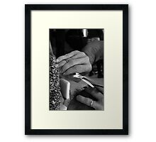 Action ... Framed Print