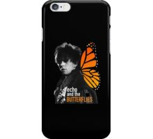 echo and the butterflies iPhone Case/Skin