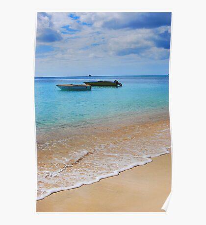 Island getaway- Grenada  Poster