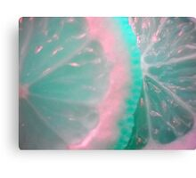 Colour Fruit. Macro. Canvas Print