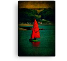 Red Return Canvas Print