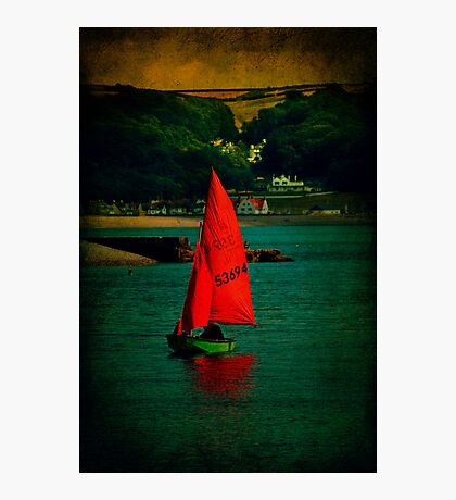 Red Return Photographic Print