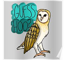 Guess Hoo? Poster