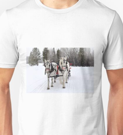 Sleigh Ride Unisex T-Shirt