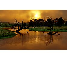 """Copper Dawn"" Photographic Print"