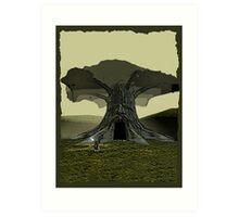 The Legend of Zelda - Great Deku Tree Art Print
