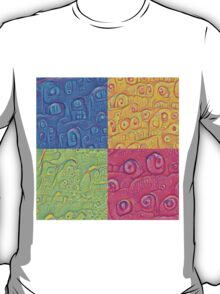 Deep Dreaming of a Color World 3K T-Shirt