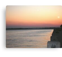 Charleston Sunset Canvas Print