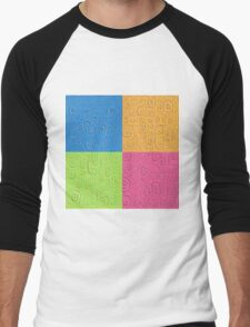 Deep Dreaming of a Color World 4K Saturation Men's Baseball ¾ T-Shirt