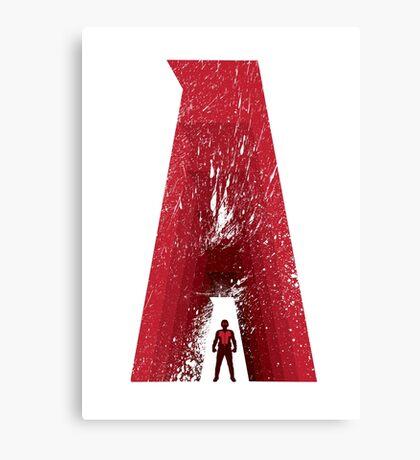 Superhero Alphabet : A Canvas Print