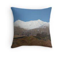 Ben Cruachan, Argyll Throw Pillow