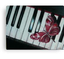 Music brings new life! Canvas Print