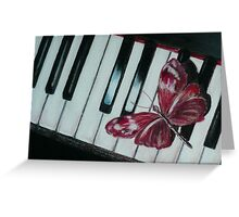 Music brings new life! Greeting Card