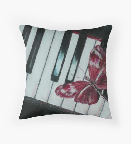 Music brings new life! Throw Pillow