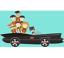 Batfamily on a Road Trip Photographic Print