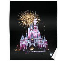 Disney Fireworks Poster