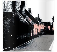 Somerset Cottages Poster
