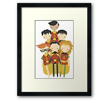 The Robins! Framed Print