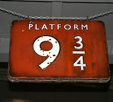 Platform Nine and Three Quarters by Tom Curtis