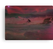 Apocolypse Later, I'm Surfing Now Canvas Print
