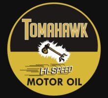 Tomahawk Motor Oil Shirt by PumpingGas