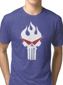 Gurren Punisher Tri-blend T-Shirt