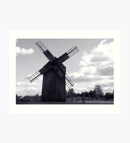 """""""Old mill"""" Art Print"""