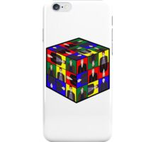 The Doctor's Cube iPhone Case/Skin