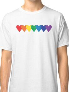 Rainbow Hearts Classic T-Shirt