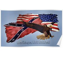 Heritage, Not Hatred Poster