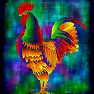 Colourful Rooster by myrbpix