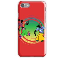 Dance Party Couple iPhone Case/Skin