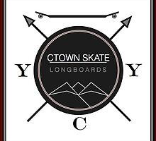 C. Town Skate Coat of Arms by ctownskate
